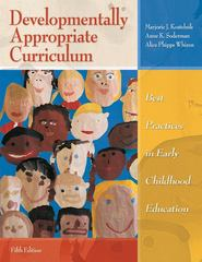 Developmentally Appropriate Curriculum 5th Edition 9780137035533 0137035535