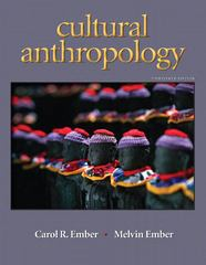 Cultural Anthropology 13th edition 9780205711208 0205711200