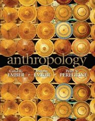 Anthropology 13th edition 9780205738823 0205738826