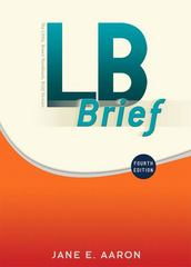 LB Brief with Tabs 4th Edition 9780205751556 0205751555