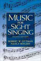 Music for Sight Singing 8th edition 9780205760084 0205760082