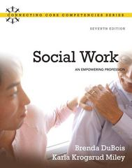 Social Work 7th edition 9780205769483 0205769489