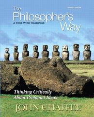 The Philosopher's Way 3rd edition 9780205776993 020577699X