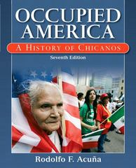 Occupied America 7th edition 9780205786183 0205786189