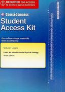 CourseCompass Student Access Kit for Earth 10th Edition 9780321672544 0321672542