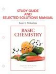 Study Guide for Basic Chemistry 3rd edition 9780321676269 0321676262