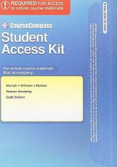 CourseCompass Student Access Kit for Human Anatomy 6th edition 9780321683144 0321683145