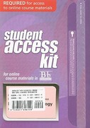 Blackboard Student Access Code Card for Living with Earth 1st Edition 9780321696120 0321696123