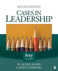 Cases in Leadership 2nd Edition 9781412980197 1412980194