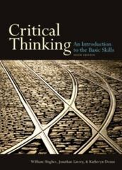 Critical Thinking 6th Edition 9781551111636 1551111632
