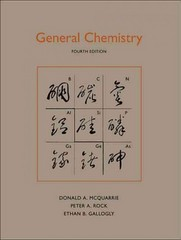 General Chemistry 4th edition 9781891389603 1891389602