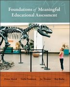 Foundations of Meaningful Educational Assessment 1st Edition 9780073403823 0073403822