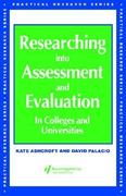 Researching into Assessment & Evaluation 1st edition 9780749417697 0749417692