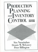Production Planning and Inventory Control 2nd edition 9780131862142 0131862146