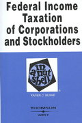 Federal Income Taxation of Corporations and Stockholders in a Nutshell 6th edition 9780314183965 0314183965