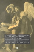 Literary Aesthetics 1st Edition 9780631208693 0631208690