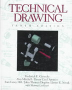 Technical Drawing 10th Edition 9780134619712 0134619714