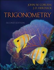 Trigonometry 2nd Edition 9780073519487 0073519480