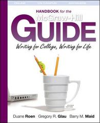 The Handbook for the McGraw Hill Guide 2nd edition 9780077385408 0077385403