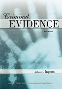 Criminal Evidence 12th Edition 9780323296083 0323296084