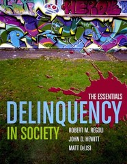 Delinquency In Society 0 9780763777906 0763777900