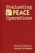 Evaluating Peace Operations 0 9781588267337 1588267334
