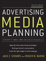 Advertising Media Planning 7th Edition 9780071703123 0071703128