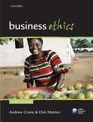 Business Ethics 3rd edition 9780199564330 0199564337