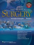 Greenfield's Surgery 5th edition 9781605473550 1605473553