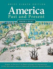 America Past and Present 8th edition 9780205760398 0205760392