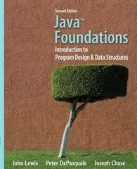 Java Foundations 2nd edition 9780132128810 0132128810