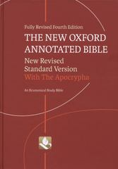 The New Oxford Annotated Bible with Apocrypha 4th edition 9780195289558 0195289552