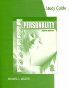 Study Guide for Burger's Personality 8th edition 9780495909903 0495909904