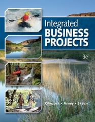 Integrated Business Projects 3rd Edition 9781111786274 1111786275