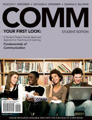 COMM (with Access Bind-In Card) 1st edition 9780495912354 0495912352