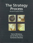 The Strategy Process 3rd edition 9780136759843 013675984X