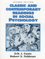 Classic and Contemporary Readings in Social Psychology 2nd Edition 9780137439072 0137439075