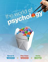 The World of Psychology (Paperback) 7th edition 9780205768837 0205768830