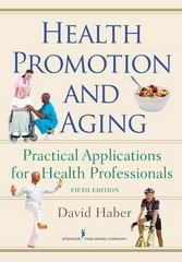 Health Promotion and Aging 5th Edition 9780826105981 082610598X