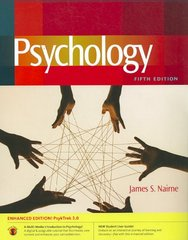 Psychology with PsykTrek 3.0, Enhanced Non Media Edition 5th edition 9780840033048 0840033044