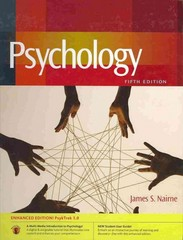 Psychology with PsykTrek 3. 0 Enhanced Non Media Edition 5th edition 9780840033055 0840033052