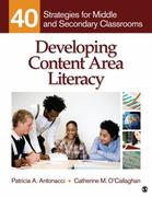 Developing Content Area Literacy 1st Edition 9781412972833 1412972833
