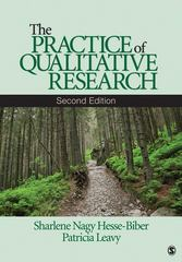 The Practice of Qualitative Research 2nd Edition 9781412974578 1412974577