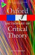 A Dictionary of Critical Theory 1st Edition 9780199532919 0199532915