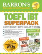 Barron's TOEFL iBT Superpack 13th edition 9781438093055 1438093055