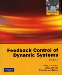 Feedback Control of Dynamic Systems 6th edition 9780135001509 0135001501