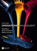 Operations Management with MyOMLab 6th Edition 9780273731603 0273731602