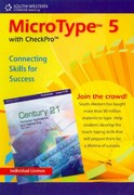MicroType 5 with CheckPro, Individual License CD-ROM for Century 21 (with Quick Start Guide) 5th edition 9780538494205 0538494204