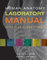 Human Anatomy Laboratory Manual with Cat Dissections 6th Edition 9780321667069 0321667069