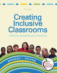Creating Inclusive Classrooms 7th Edition 9780137030743 0137030746
